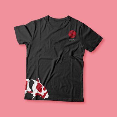 senju-t-shirt-black